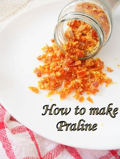 How to make praline, so easy and fuss free....top up your ice creams with this crunch....step by step