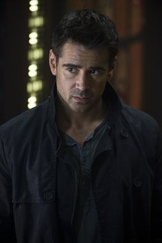 "Irish actor Colin Farrell stars in Columbia Pictures' ""Total Recall,"" an action thriller about reality and memory. Lindsay Lohan, Colin Farrell Haircut, Vampire Diaries, Dublin, Horrible Bosses, Haircut Images, Total Recall, Fright Night, Cinema"
