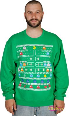 Pac-Man Faux Ugly Sweater ($35)