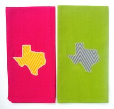 Buy State Texas Applique Kitchen Towel, Dish Towel, Tea Towel, Hand Towel, Handmade Towel Housewarming Gift by rkymtncrafts. Explore more products on http://rkymtncrafts.etsy.com