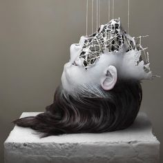 the series 'fragment of LTM' (long term memory) by yuichi ikehata relays a futuristic feeling that our bodies may not be what they seem.