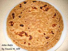 Atta Rotis | Fauzias Kitchen Fun