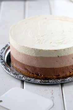 No Bake Desserts, Delicious Desserts, Dessert Recipes, Yummy Food, Sweet Pastries, Piece Of Cakes, Let Them Eat Cake, Yummy Cakes, No Bake Cake