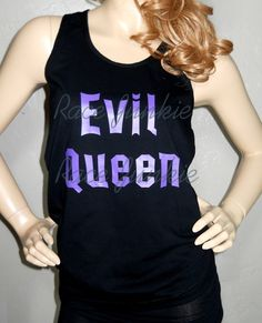 Evil Queen American Apparel loose fit Tank or Tshirt by RaceJunkie, $22.99