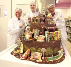 Fun things to do in Birmingham Chocolate World, Like Chocolate, How To Make Chocolate, Chocolate Making, Cadbury World, Chocolate Buttons, Chocolate Delight, Handmade Chocolates, Wonderful Things