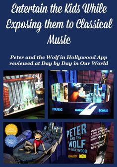 Do your kids enjoy animated stories on the iPad? Take a look at the new Peter and the Wolf in Hollywood App which entertains as well as exposes kids to awesome classical music. #PeterandtheWolfApp #review #ad