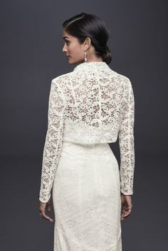 Sheer Boat Neck Lace Jacket Wedding 3/4 Sleeves in 2018 | best ...