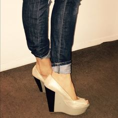 Jessica Simpson's wedges Size 8 Jessica Simpson Shoes