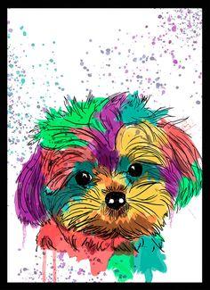 Maltês - Dog in Art