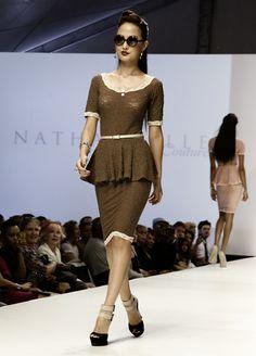 LA Fashion Week 2012:: Gallery LA:: Nathanaelle Couture SS13 | The Chic Society La Fashion Week, The Chic, Peplum Dress, Designers, Couture, Gallery, Shopping, Dresses, Vestidos