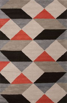 Jaipur Rugs En Casa By Luli Sanchez Tufted Ojo Lst19 Dark Ivory-Deep Charcoal Area Rug Last Chance