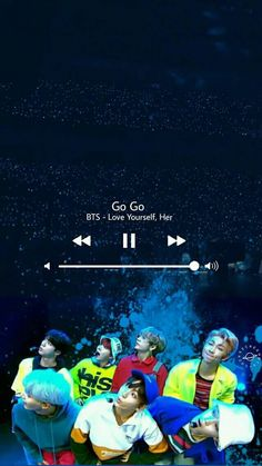 Wallpaper BTS Go Go