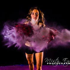 Powder Portrait: Cheerleader