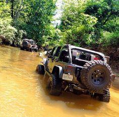Jeep JK River Crossing