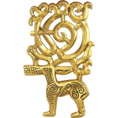 MMA Metropolitan Museum of Art UFA Reindeer Pin / Pendant