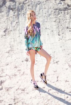 Orange Puma Caroline Sneakers #PUMAstyle #PUMA #wedge