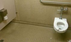 I feel this is a very sad metaphor for life. | The 19 Most Epic Bathroom Fails That Will Make You Hold It Forever