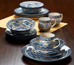 qvc dinnerware | Temp-tations Old World 16-piece Dinnerware Service for 4 | QVC