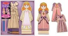 Melissa and Doug - Magnetic Princess Fashions - DYO * Continue to the product at the image link.