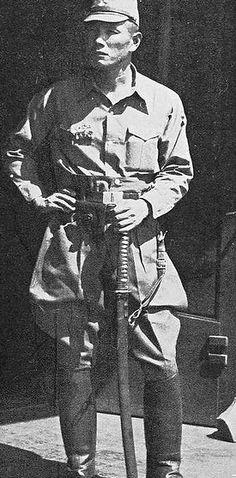 1943....JAPANESE IMPERIAL ARMY OFFICIER....PARTAGE OF MAHIR OZKAN ON FACEBOOK....