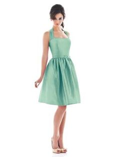 """Potential Bridesmaid Dress...Dessy Alfred Sung Style D482 in """"Fresh"""""""
