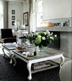Riviera Maison living room as featured in Maisons Côté Ouest