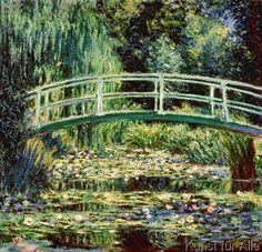 Claude Monet - Les nympheas blancs