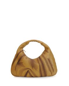 Bottega Veneta Veneta Intrecciato Large Shadow Hobo Bag e1a677253de53