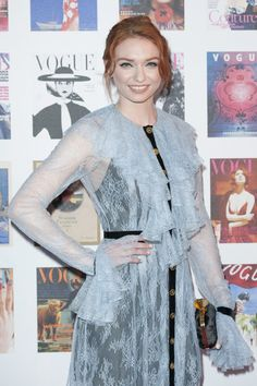 Eleanor Tomlinson Photos Photos - Eleanor Tomlinson arrives for the Gala to celebrate the Vogue 100 Festival at Kensington Gardens on May 23, 2016 in London, England. - Vogue 100 Festival - Gala - Arrivals