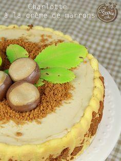 Charlotte à la crème de marrons - Féerie cakeFéerie cake