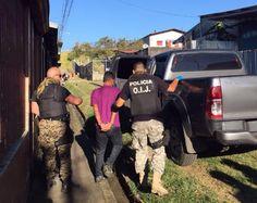 Detienen a cinco sospechosos de matar a joven en Escazú
