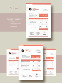 Stationery Templates, Invoice Template, Adobe Indesign, Letter Size, Color Change, Swatch, Fonts, Lettering, Free