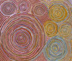 Wentja Napaltjarri_Rockhole_Art aborigene australien