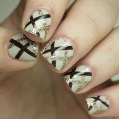 UK Nail Art Blog: Nonoo AW14 Inspired