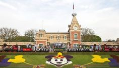 The first and last photo of many a guest's Disneyland visit is taken in front of the world renown Floral Mickey. So popular was the first one, that they're a common feature of every Magic Kingdom style park. Of course, Mickey has seen a few changes over the years: It...