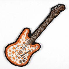 Guitar Star Bügelflicken