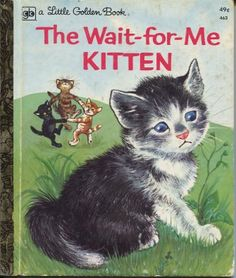 Little Golden Book Vintage Childrens Books Product Image Where My Love Of Cats Began