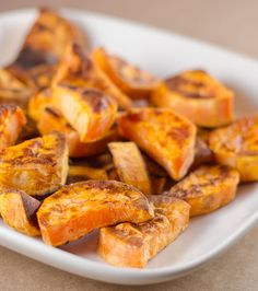 Perfect Roasted Sweet Potatoes