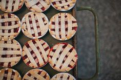 Mini Pies - Country and Western Bridal Shower Ideas