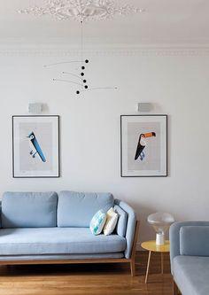 Home Interior Design — White living room wi Estilo Interior, Home Interior, Interior Design, Living Room Inspiration, Interior Inspiration, Design Inspiration, Home Living Room, Living Room Decor, Dining Room