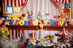 Festa Circo - Antonio Davi - Inesquecível Festa Infantil