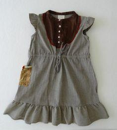 Matilda Jane Westside Bettie Dress Size 8 Herringbone