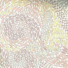 Tissu Liberty Shoals, col. Vanille, Nude, Mauve, Glacier - La Mercerie Parisienne