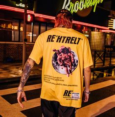 Astronaut Print Fashion Short Sleeve · Hype Project · Online Store Powered by Storenvy Top Streetwear, Streetwear Brands, Streetwear Fashion, Shirt Print Design, Shirt Designs, A Bone, Urban Outfits, Apparel Design, Louis Vuitton