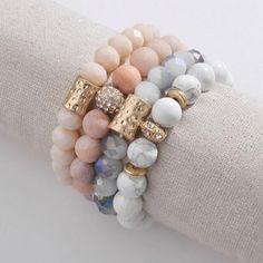 Serenity Natural Stone Bracelet