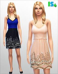 Irida Sims 4: Dress 4_I • Sims 4 Downloads