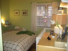 Our nursery nook in bedroom