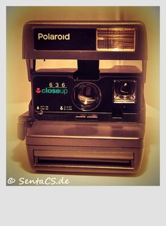 Polaroid Camera Vintage ~ we still have ours in a drawer somewhere