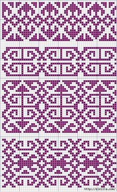 TOT TRICOT You are in the right place about knitting techniques different Here we offer you the most beautiful pictures about the knitting techniques different you are looking for. When you examine th Fair Isle Knitting Patterns, Knitting Machine Patterns, Knitting Charts, Loom Knitting, Knitting Stitches, Mosaic Patterns, Embroidery Patterns, Cross Stitch Patterns, Machine Embroidery