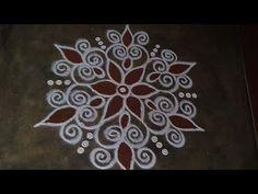 Simple Rangoli Designs Images, Rangoli Designs Flower, Rangoli Border Designs, Rangoli Ideas, Rangoli Designs Diwali, Rangoli Designs With Dots, Beautiful Rangoli Designs, Kolam Designs, Mehndi Designs